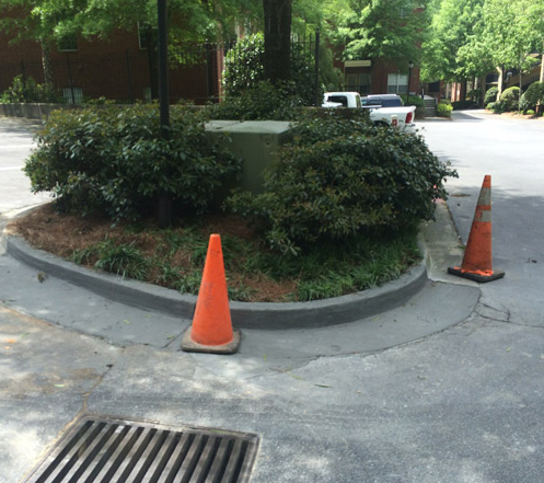 curb and gutter paving