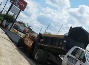 allstar innovations asphalt paving truck kfc