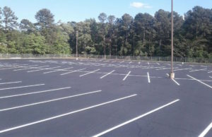parking lot asphalt line striping